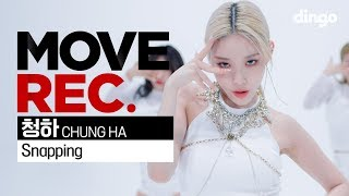 Gambar cover 청하 CHUNG HA Snapping Performance video 5K MOVE REC