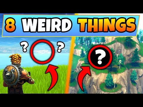 Fortnite Gameplay: 8 COOL/FUNNY THINGS in Game! - Spawn Island & More! (Battle Royale)