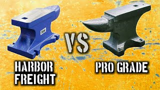 55 lb Harbor Freight Anvil VS 55 lb Pro Grade Anvil: Which One Should You Buy?