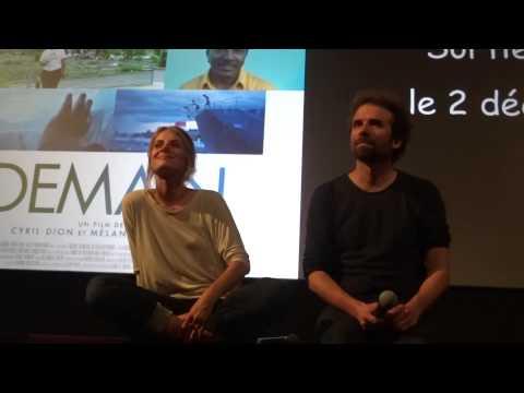 Avant-première de Demain, avec Mélanie Laurent