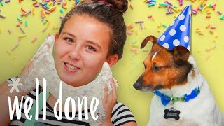 Birthday Cake Pudding Slime | Recipe | Well Done