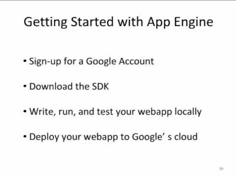 O'Reilly Webcast: Thoughts on Google App Engine- a Python programmer's perspective