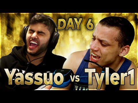 TYLER1'S ROAD TO LOSE?! | YASSUO VS TYLER1 - $10K BET: DAY 6
