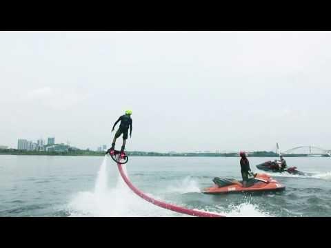 Fun time with Flyboard Malaysia at Marina Putrajaya