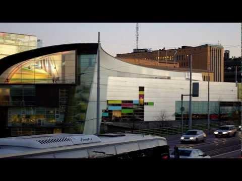 Kiasma, Modern Art Museum in Helsinki Finland (November 2011)