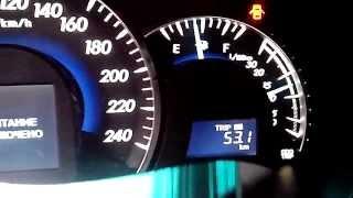 CAN намотка спидометра Toyota Camry 2012 - 2013