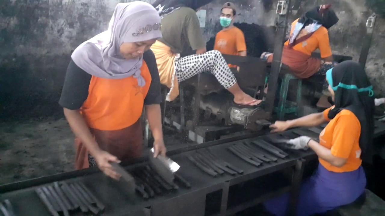 Pabrik arang briket batok kelapa -Arang briket Shisa ...