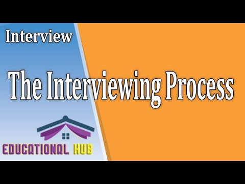 The Interviewing Process | Dual Purpose of Interview | Stages in Interview