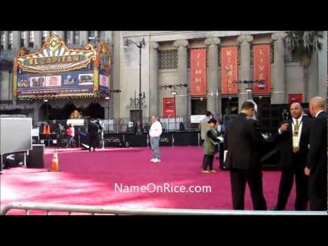 85TH ACADEMY AWARDS SETUP (THE OSCARS) RED CARPET  DOLBY THEATER HOLLYWOOD CA FEB 22, 2013