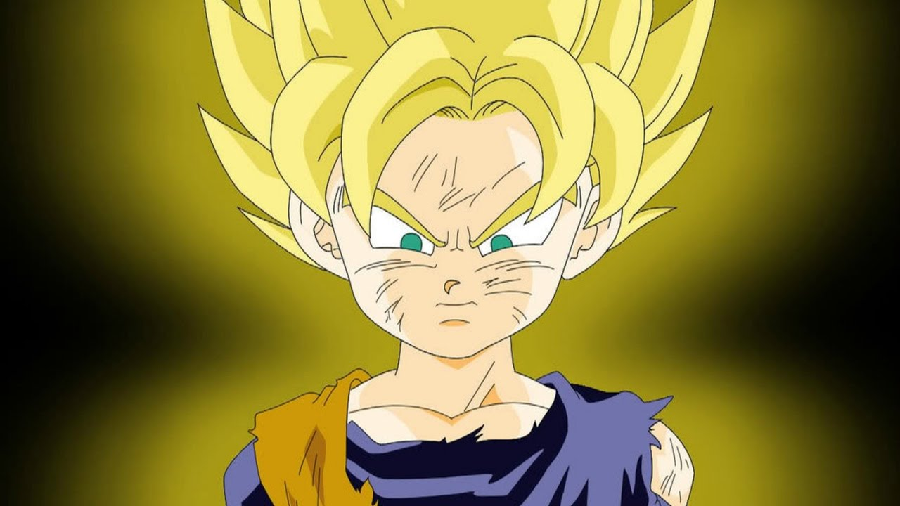 goten all forms and transformations youtube