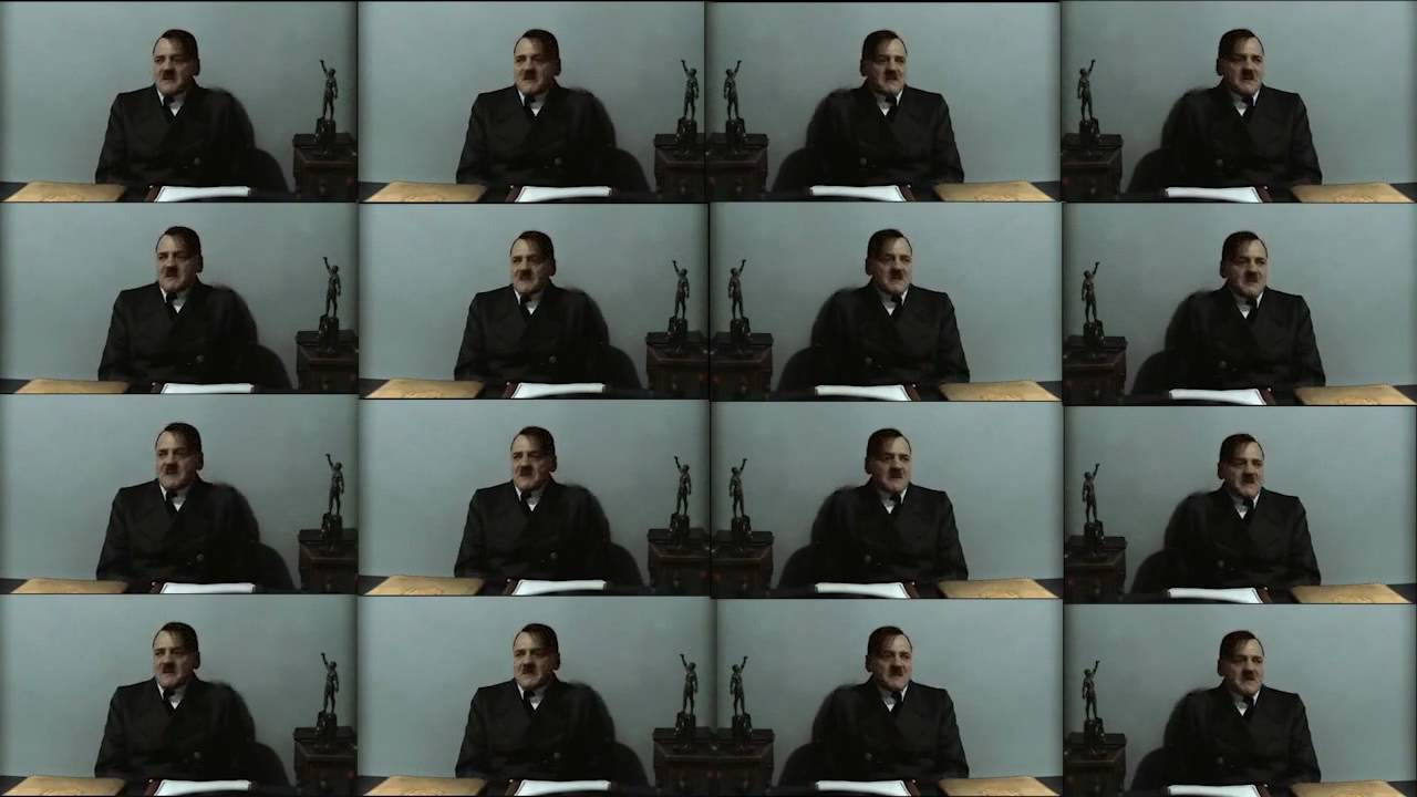 Hitler is informed there are many Hitlers