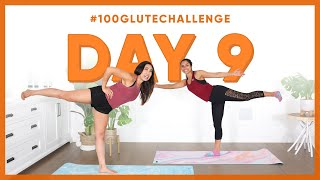 Day 9: Standing Leg Pulse! | 100 Glute Challenge w/ Michelle Khare
