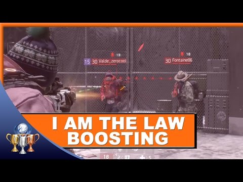 The Division - I am the LAW Trophy Boosting for 20 Rogue Agent PvP Kills
