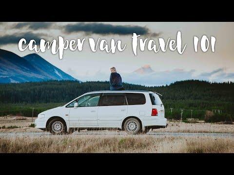 TRAVELLING IN A CAMPER VAN 101 | New Zealand Edition  | Top Ten Tips #VanLife
