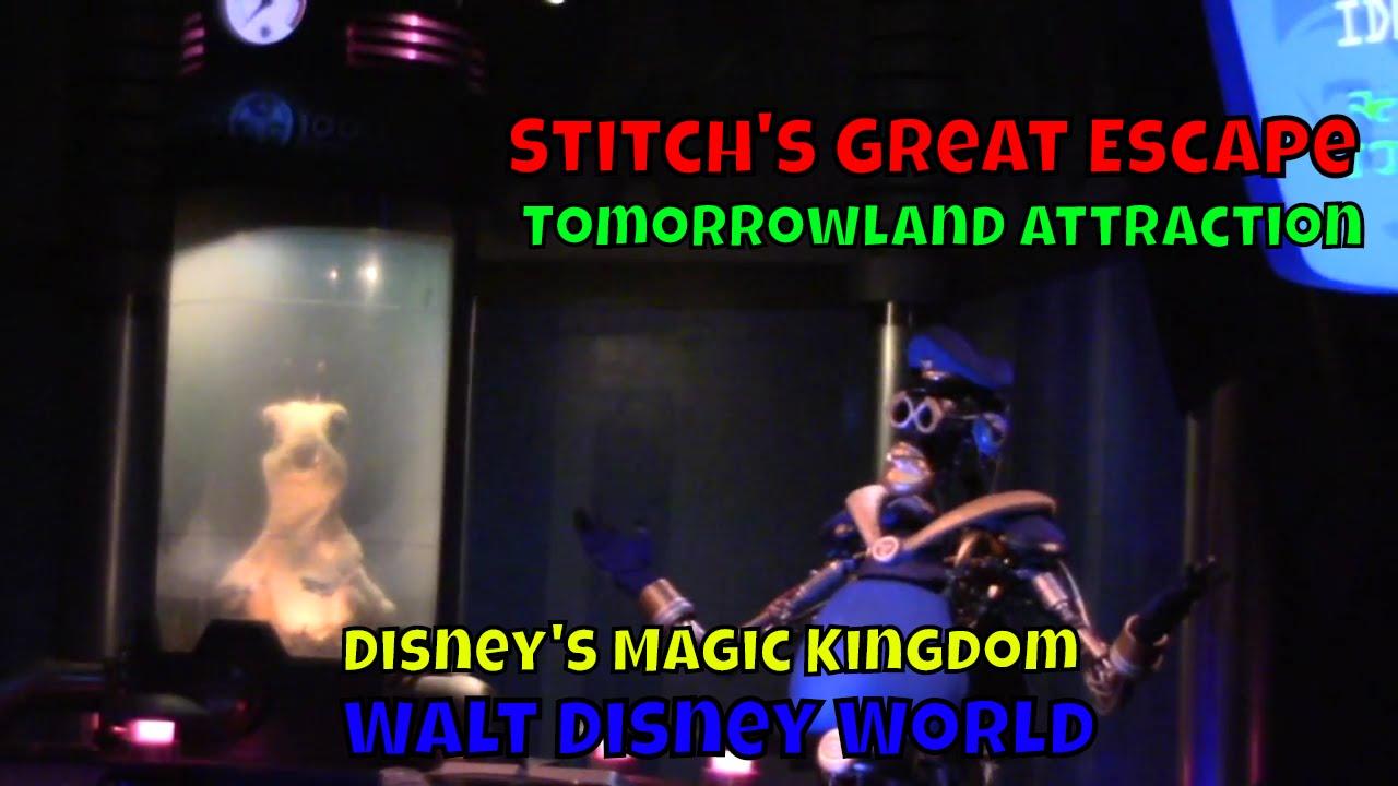 Stitch's Great Escape POV at Walt Disney World's Magic Kingdom