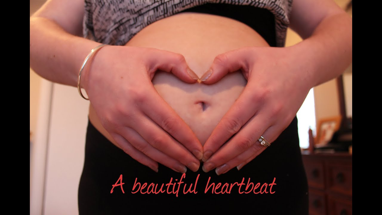 Hearing our baby's heartbeat for the first time {12 weeks ...