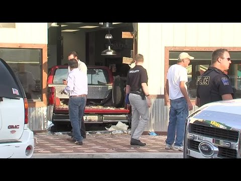Truck Slams Into Billy Sims BBQ