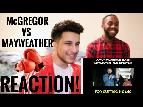 Thumbnail: Conor McGregor vs Floyd Mayweather 2nd (TORONTO) Press Conference! (REACTION!)