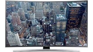 UNBOXING : Samsung UA55JU6600 UHD 4K Curved Smart TV JU6600 Series 6