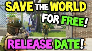 Fortnite *FREE* Save the World RELEASE DATE - Wann / Wie bekomme ich Save the World kostenlos?
