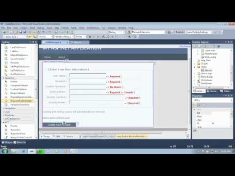 Building Web Apps Using ASP.NET and Visual Studio 2013