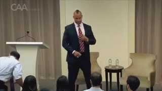 CAA Speakers - Mark Herzlich