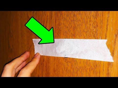 Заклейте дверной глазок и защитите свой дом