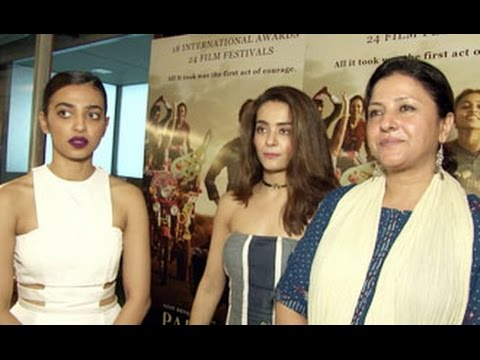 Parched Movie 2016 Cast Interview | Radhika Apte, Surveen Chawla, Tanishtha Chatterjee, Leena Yadav