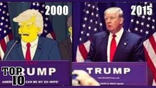 Top 10 Simpson Moments That Came True