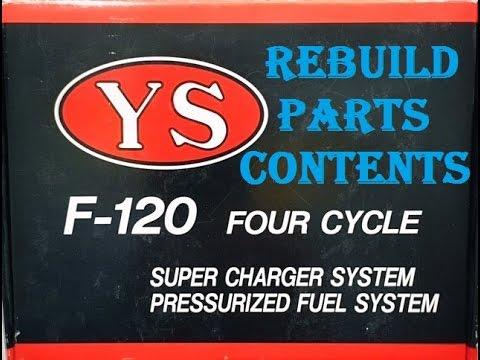 YS F-120 Rebuild Parts