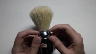 Бритье. Обзор итальянского помазка Omega 48 (10048) professional. Omega 48 shaving brush review.
