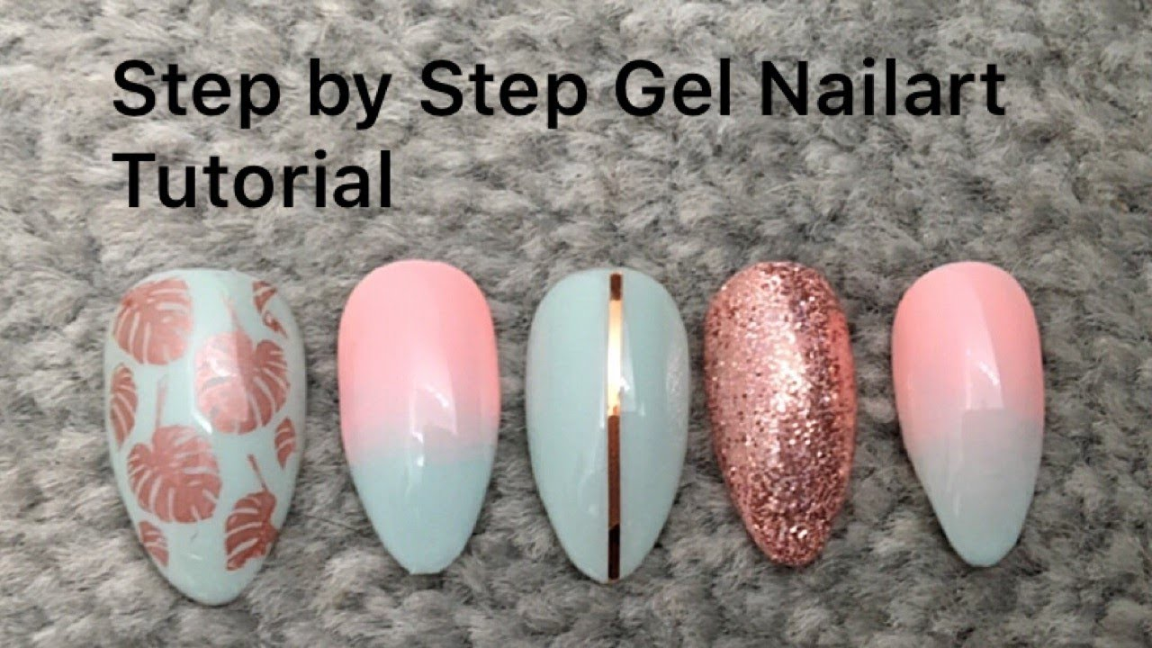 How To Do Nail Art Over Gel Polish To Bend Light