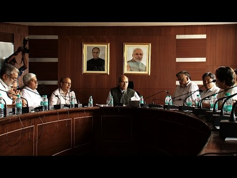 MoEFCC Shri Anil Madhav Dave holds meeting with senior officials