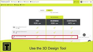 Use the 3D design tool