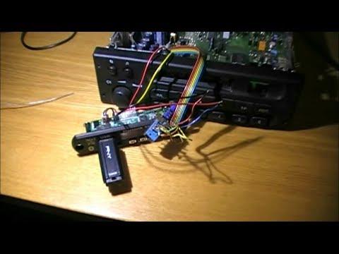 USB MP3 в CAR300 Blaupunkt