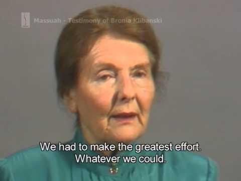עדותה של ברוניה קליבנסקי