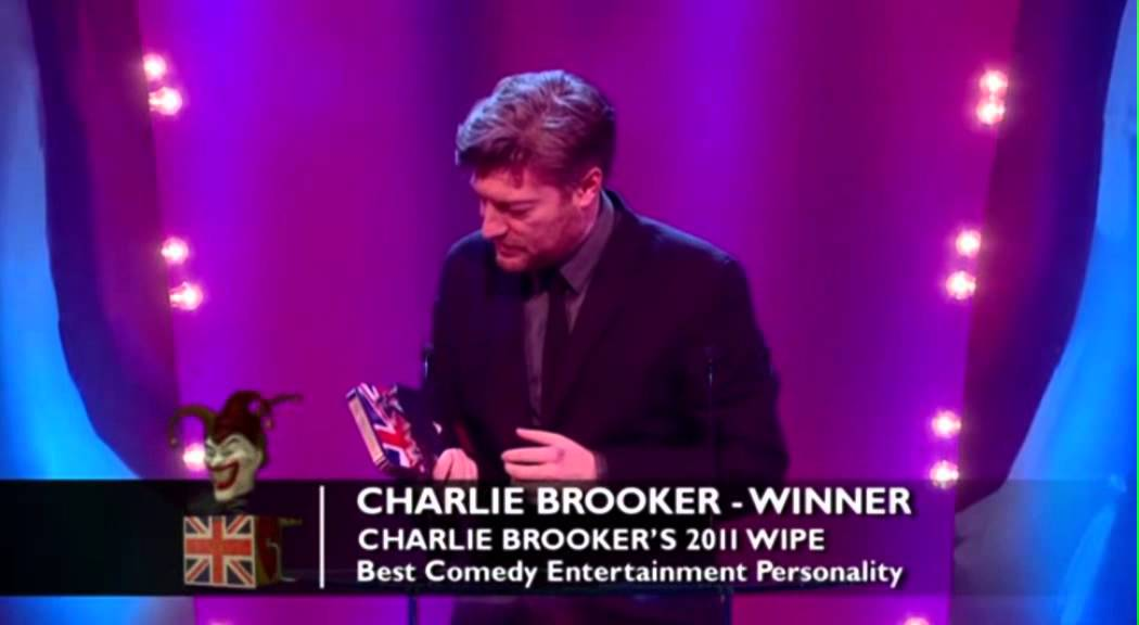 Best Comedy Entertainment Personality: Charlie Brooker | British Comedy Awards 2012