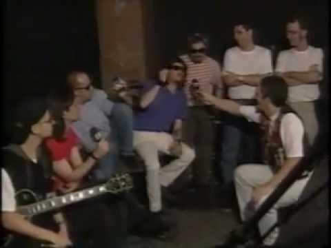 Titãs no programa Gás Total MTV em 1995