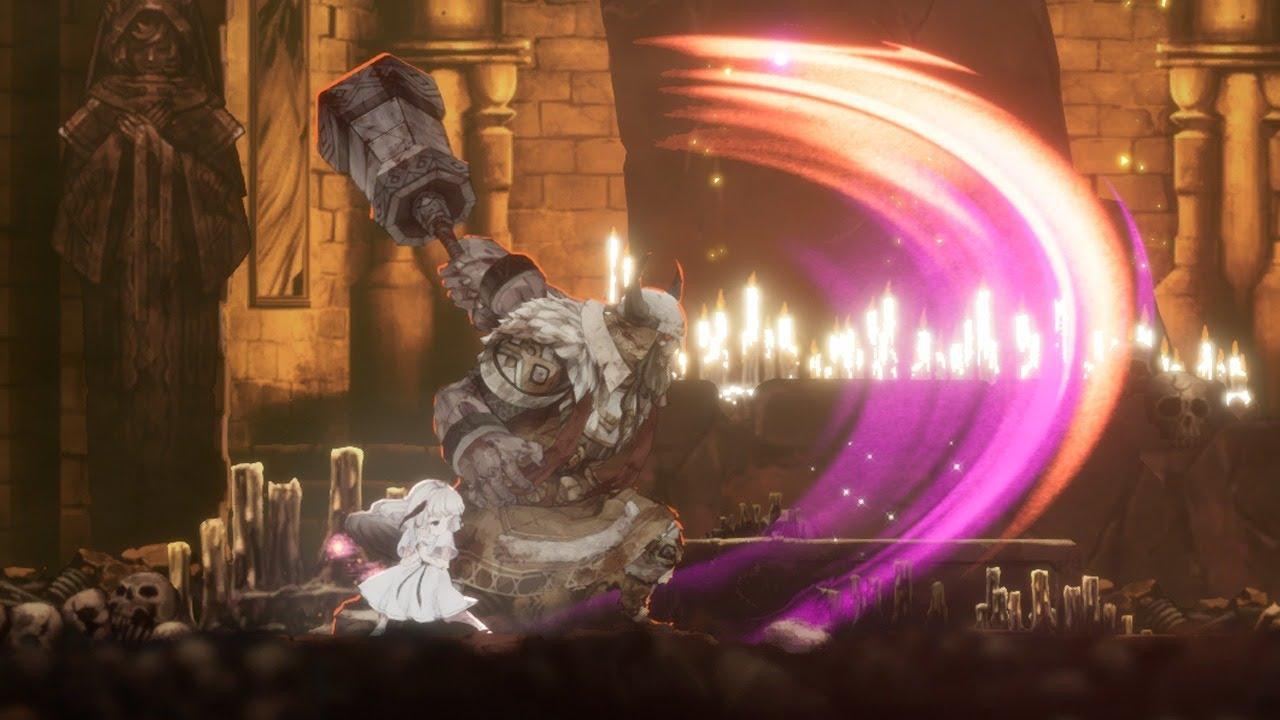 fireb0rn plays new metroidvania Ender Lilies! (pt. 2)