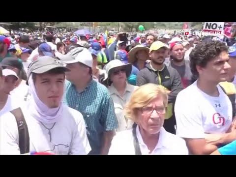 Las mejores imágenes de las protestas en Venezuela el 20 de abril