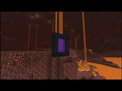 Minecraft [CZ] Tutoriál - Cestování Nether Portály ᴴᴰ