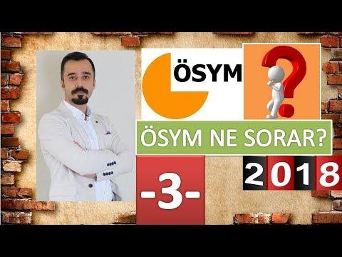 YKS / AYT EDEBİYAT SORU TAHMİNLERİ - 3...