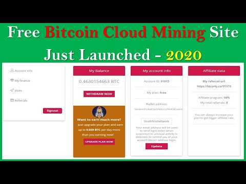 New Free Bitcoin Cloud Mining Site 2020 | Btconly.co Full Review | Scam Or Legit?