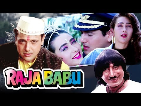 Raju Babu Full Movie in HD | Govinda Hindi Comedy Movie | Karisma Kapoor | Bollywood Comedy Movie
