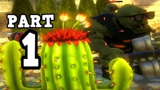 Plants vs. Zombies Garden Warfare Multiplayer Gameplay - Garden Ops part 1