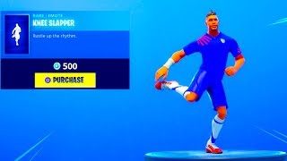 *NEW* KNEE SLAPPER DANCE EMOTE Is Finally Out..! (New Item Shop) Fortnite Battle Royale