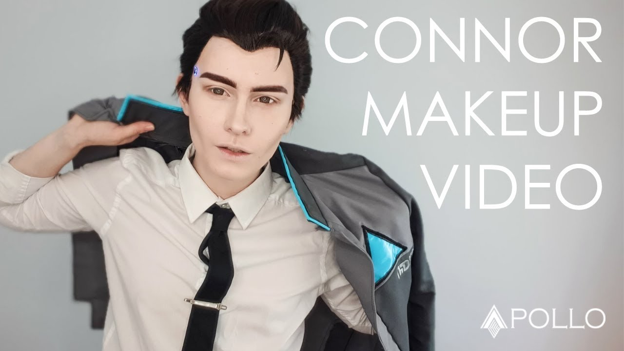 Connor Makeup Detroit Become Human Youtube