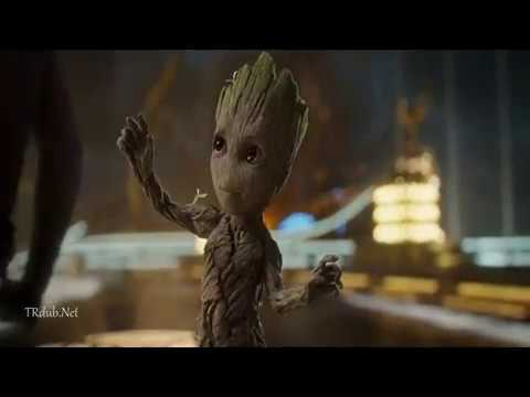 Guardians Of The Galaxy 2 Babby Groot Scenes Tamil