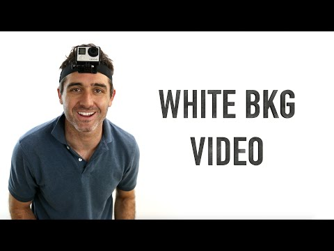 How to Shoot White Background Video - Cheap