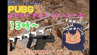 [LIVE] 【PUBG】ベクターを愛してみよう!!!【島村シャルロット / ハニスト】